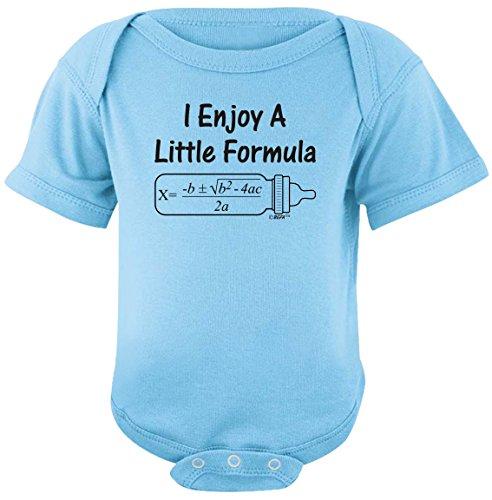 Bebé Regalos para todos disfrutar de un poco de Fórmula–matemáticas Nerd Body -  Azul -