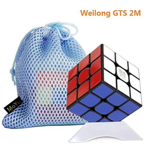 OJIN Magic Cube Stand Plastic para Puzzle Cube Holder Show - Blanco MoYu Cube Tripod
