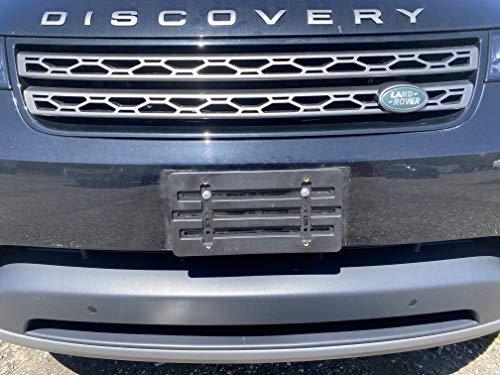 Front License Plate Bumper Mount Holder Bracket for Land Rover Range Rover + 6 Unique Screws & Wrench