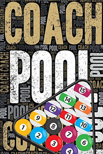 Pool Coach Journal: Cool Blank Lined Pool Lovers Notebook For Coach and Player