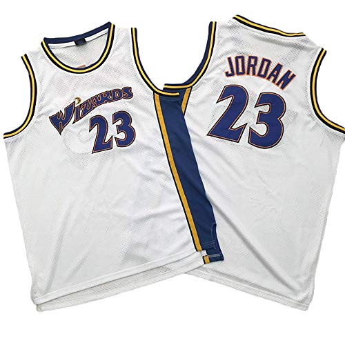 TPPHD Jerseys de Baloncesto para Hombres, asistentes de la NBA Washington # 33 Jordan CLÁSICO SWORKMAN Jersey, Tela Respiradora Fresca Vintage All-Star Unisex Fan Uniforme,1,M