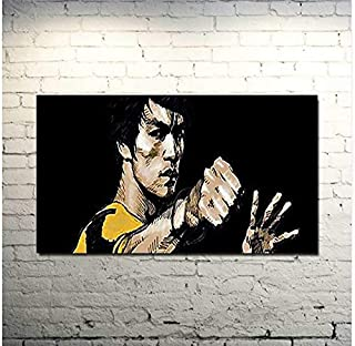 bruce lee black and yellow