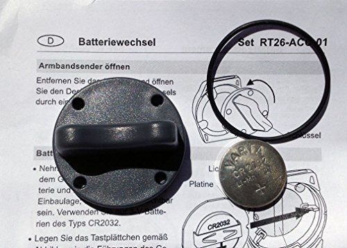 Batteriewechsel-Set für ELDAT Armband- und Halsbandsender