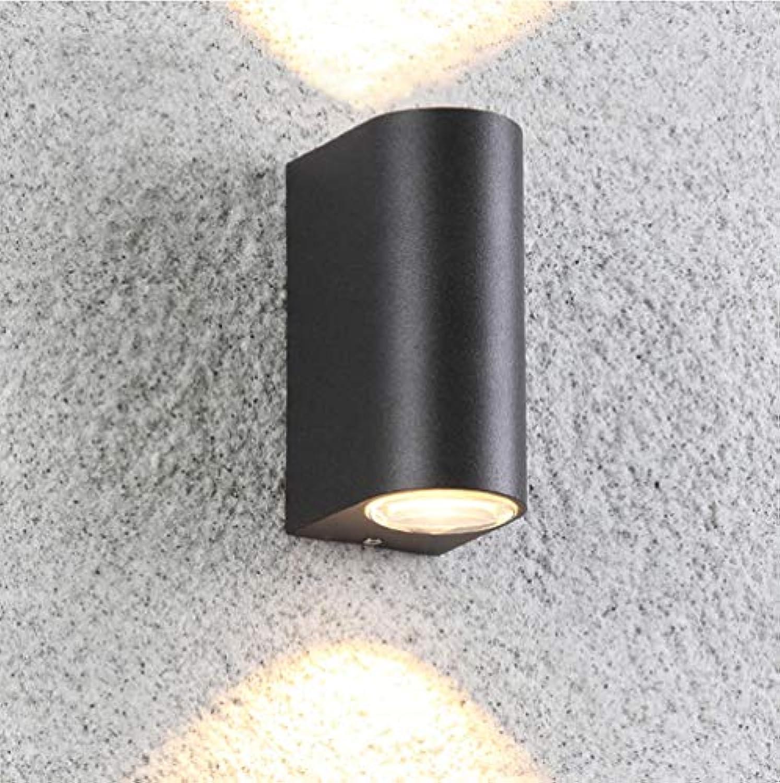 YLJYJ LED Applique Led Mural Exterieur Interieur,Lampe murale Moderne étanche Réglable Lampe Up and Down Design Pour Couloir,Escalier,Salle d'exposition,Salon