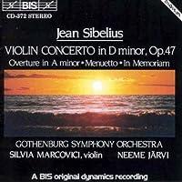 Violin Concerto in D Minor, Op. 47 / Overture in A Minor / Menuetto / In Memoriam (1994-08-11)