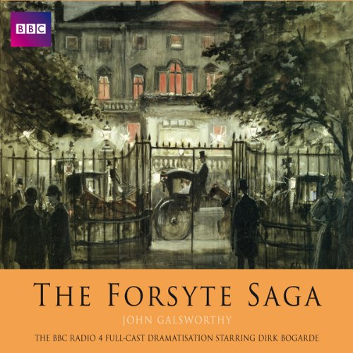 The Forsyte Saga (Dramatised) audiobook cover art