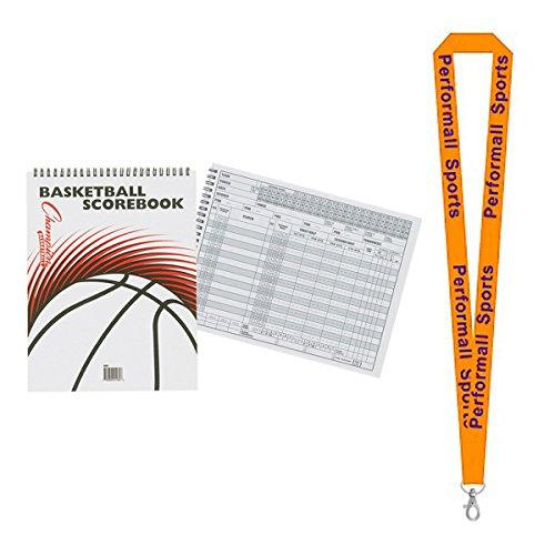 Champion Sports Basketball Scorebook Basketball (Set of 2) Bundle