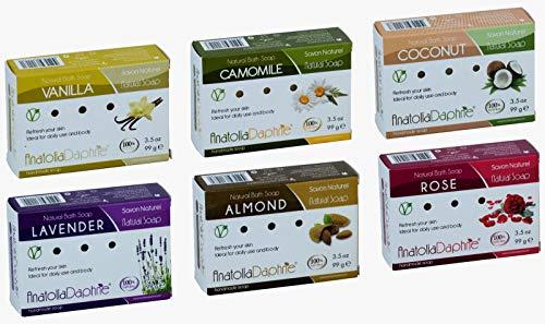 Anatolia Daphne 100% Natural Soap w/ Organic Ingredients, Vegan,...