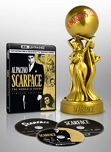 Scarface Limited Edition (3 movies) (4K Ultra HD + Blu-ray + Digital HD) $31.99 - $31.99