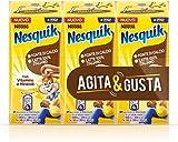 Nesquik Pronto da Bere, Bevanda a Base di Latte e Cacao Magro, 8 Confezioni da 3 Brick da 180 ml