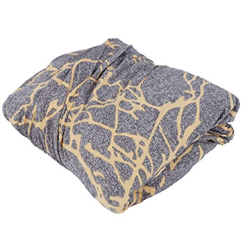 Fybida Funda Protectora de sofá Funda de sofá Duradera elástica para Hotel para Sala de Estar(Golden Branch Gray)