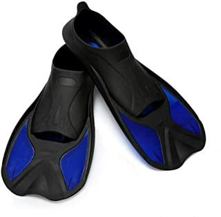 Atphfety Smart Short Blade Swim Fins for Training Swimming and Snorkeling
