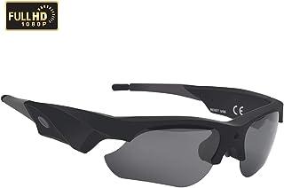 WBPINE 1080P - Gafas de Sol para cámara de vídeo (protección UV, para Deportes, equitación, Pesca, Motocicleta)