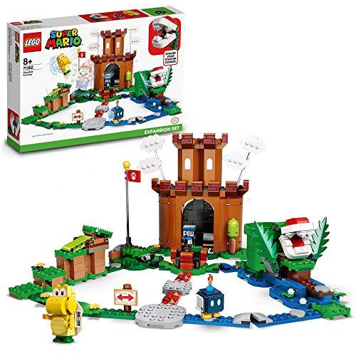 LEGO 71362 Super Mario Set de Expansión: Fortaleza Acorazada, Juguete de Construcción para Niños +8 años con 3 Mini Figuras