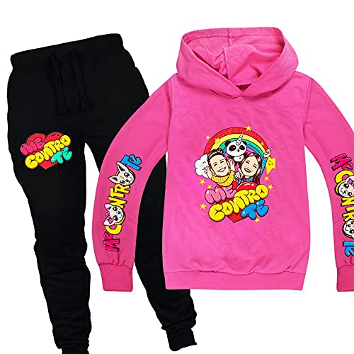 XINXIN Me Contro Te Anzug Kind Jungen Mode Pullover Set Langarm Hoodies + Hosen Mädchen Outfit Säuglingskleidung Kleinkind Mädchen Kleidung