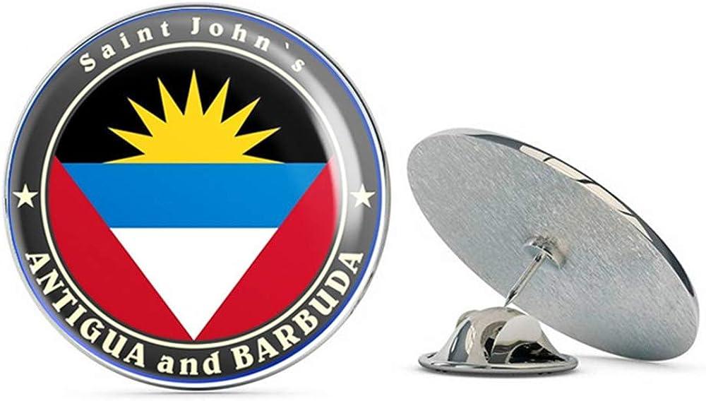 Antigua and Barbuda Round Metal 0.75