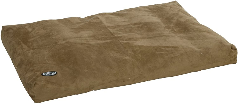 Buster Memory Foam Dog Bed, 120 x 100 cm, Olive