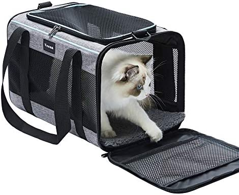 Vceoa Airline Approved Soft Sided Pet Travel Carrier for Dogs and Cats product image