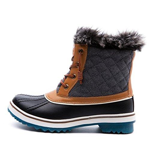 GLOBALWIN Women's 1632-3 Snow Boots SZ-9.5M US