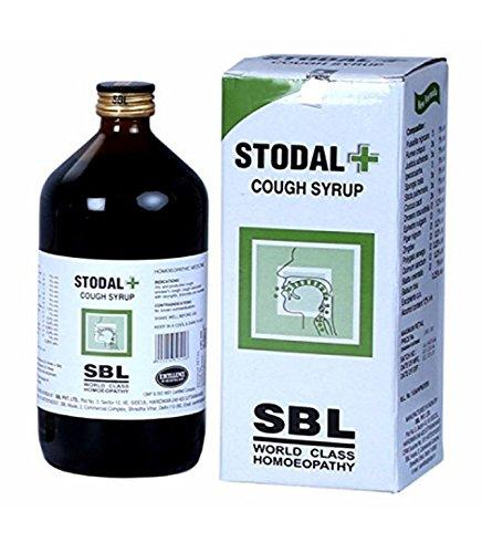 SBL Jarabe de la homeopatía Stodal + para la tos seca alérgica 115ml