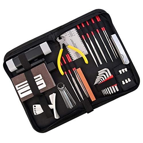 45 Pieces Guitar Repairing Maintenance Tool Kit,Haploon Guitar Setup Kit Repair Tools...