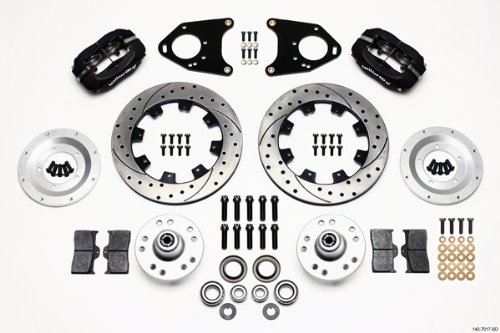 Review Of Wilwood 140-7017-BD Front Brake Kit for Mustang II/Pinto