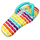 SADDPA 150 * 75cm Flip Flop Flotador de la Piscina Inflable colchón de Aire Piscina Playa Tumbona Flotante for Adultos Cama Ride-on Fiesta en la Piscina Juguetes (Color : AS Pic)