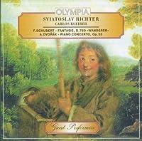 """Schubert: Fantasie, D.760 """"Wanderer"""" ; Dvorák: Piano Concerto, Op. 33"""