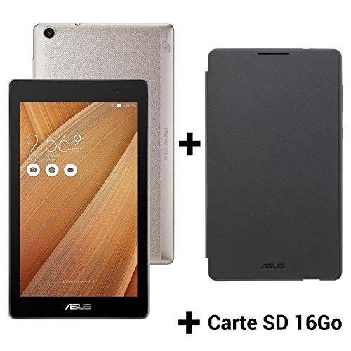 ASUS ZenPad Z170C 78GB Metallo Aurora (z170C-1l042a) + Persona Cover + Scheda SD 16GB