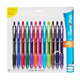 Paper Mate Profile Retractable Ballpoint Pens, Bold (1.4mm), Assorted...