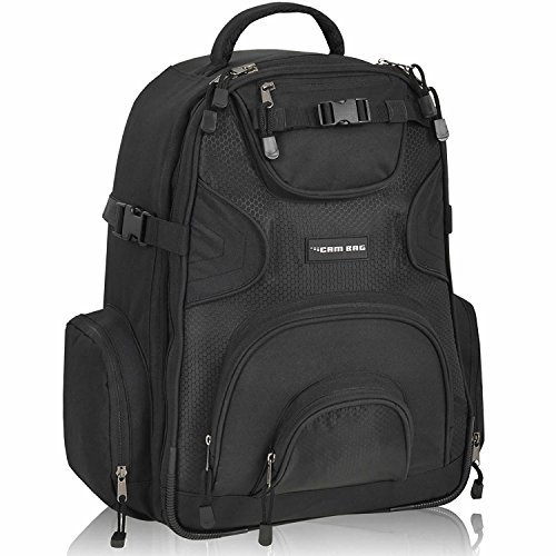 Profi Fotorucksack KEANU Cambag XL Fotofach Laptopfach Stativhalter Regenhulle viele Facher Kamerarucksack Handgepack Bordgepack Fotorucksack