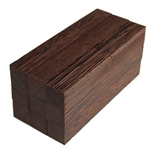 Exotic Wood Pen Blanks 9-Pack: Wenge