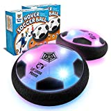 LLMoose Hover Soccer Ball Set of 2, Hover Ball with LED Lights and Soft Foam...