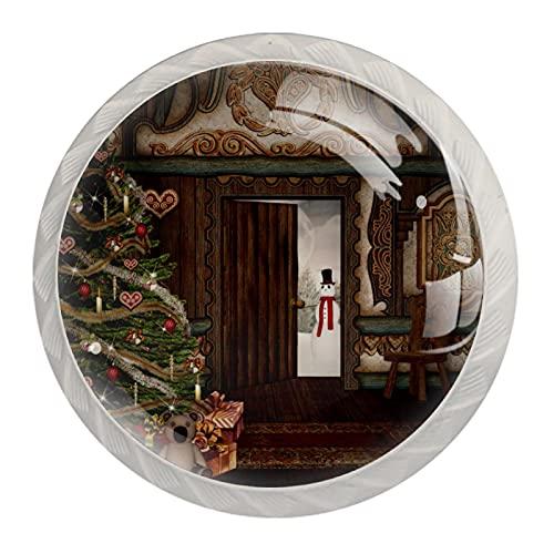 Las manijas del cajón tiran las perillas decorativas del gabinete Manija del...