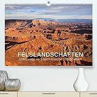 Felslandschaften (Premium, hochwertiger DIN A2 Wandkalender 2022, Kunstdruck in Hochglanz): Die eindrucksvollen Landschaften des amerikanischen Suedwestens in 13 Bildern. (Monatskalender, 14 Seiten )