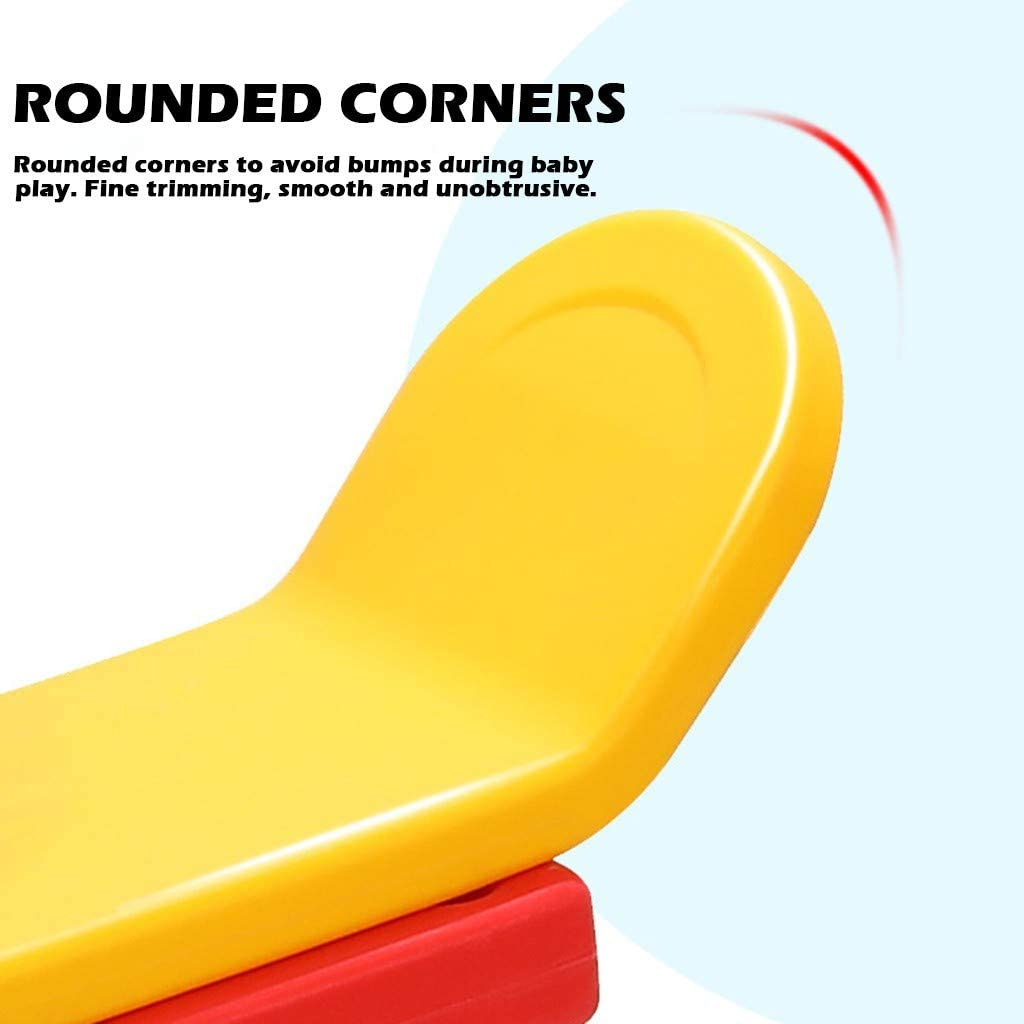 Cute Kids Teeter Totter 2 Seater Play Sets for Indoor Outdoor Backyard Seesaw Rocker Toy Playground Equipment Cute Horse Shaped, Red Johuka Toddler Seesaw