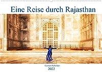 Eine Reise durch Rajasthan (Wandkalender 2022 DIN A2 quer): Eine Reise durch das wunderbare farbenfrohe Rajasthan, Agar und Delhi in Indien (Monatskalender, 14 Seiten )