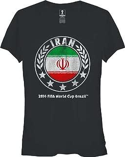 FIFA Official Brazil World Cup Junior Sphere T-shirt Team Iran, 2XL