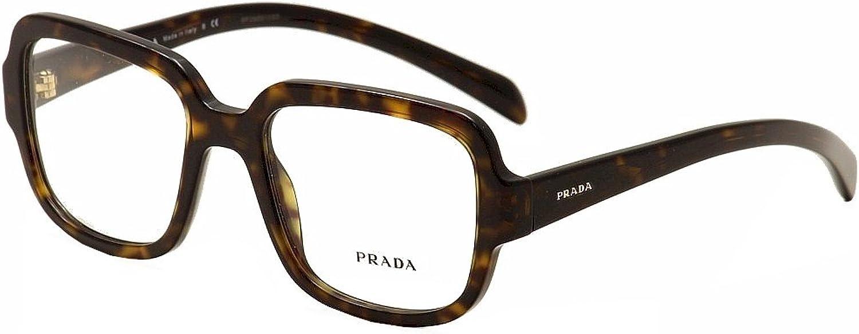 Prada Eyeglasses PR15RV 2AU1O1 Havana 53 19 140