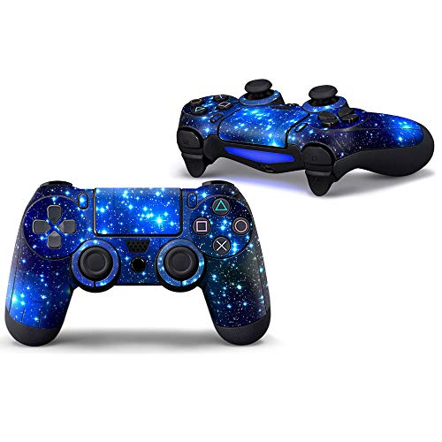 Sololife PS4 Controller Skin Stickers for Sony Playstation 4 DualShock Wireless Controller - Starry Sky