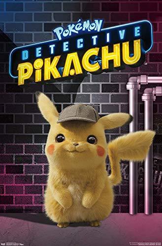 Jigsaw Puzzles 1000 Pokémon: Detective Pikachu - Neon Wall Poster
