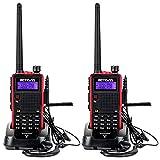 Retevis RT5 Walkie Talkie Professionali 7W Doppia Banda 128 Canali Allarme VOX DTMF FM Radio 1750Hz...