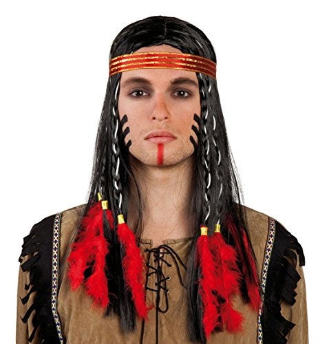 Indian wig for adult (peluca)
