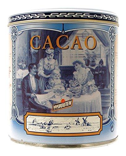 Van Houten Cacao en Polvo de estaño azul 250g/8.8oz