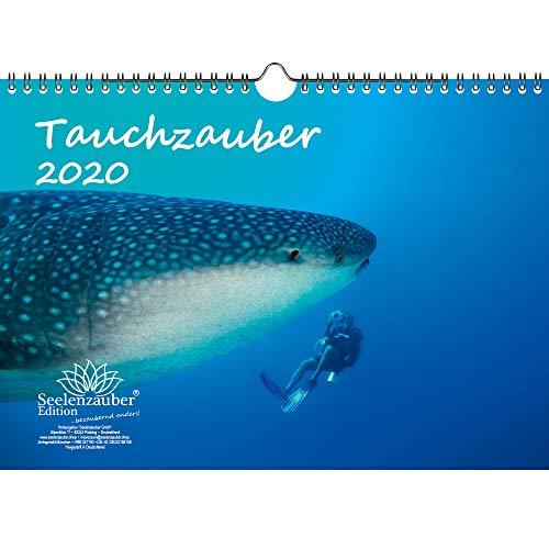 Duikmagie DIN A4 kalender 2020 onderwater en duiken - zeelmagie