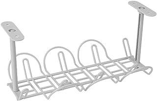 Alftek Under Desk Cable Management Tray - Organizador para Cable de Carga