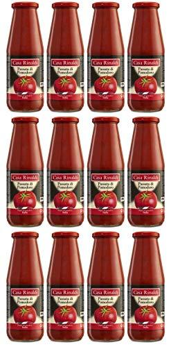 Passata di Pomodoro -passierte Tomaten 100% Italienisch- Casa Rinaldi 12x690 GR