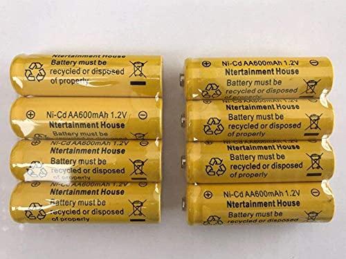 Batería Recargable NI-CD/Ni-MH (1 2V AA 800MAH NI-MH) o batería Recargable NI-CD/NI-MH (1 2V AA 800MAH NI-MH) o luz Solar y Dispositivo Solar (1 2V AA 800MAH Ni- Mh)-AA 1.2V 600mAh Ni-CD