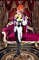 """(ABC-cos )黒執事Book of Circus""""サーカス編"""" ノアの方舟サーカス ジョーカー 風 コスプレ衣装"""