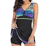 Tankinis Mujer 2019 SHOBDW Bikini Push Up Traje de Baño Mujer Dos Piezas Gradiente Bañad...